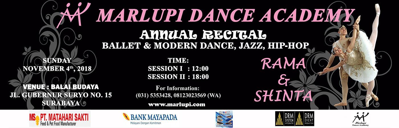Marlupi Dance Academy Rama dan Shinta - Surabaya