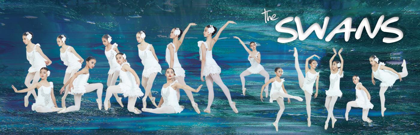 Swan Lake in Modern Ballet MDA Surabaya 2019