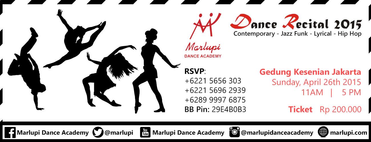 Marlupi Dance Recital 2015