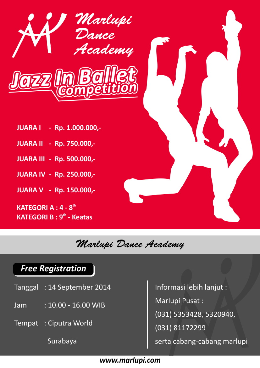 Marlupi Jazz in Ballet Competition 2014