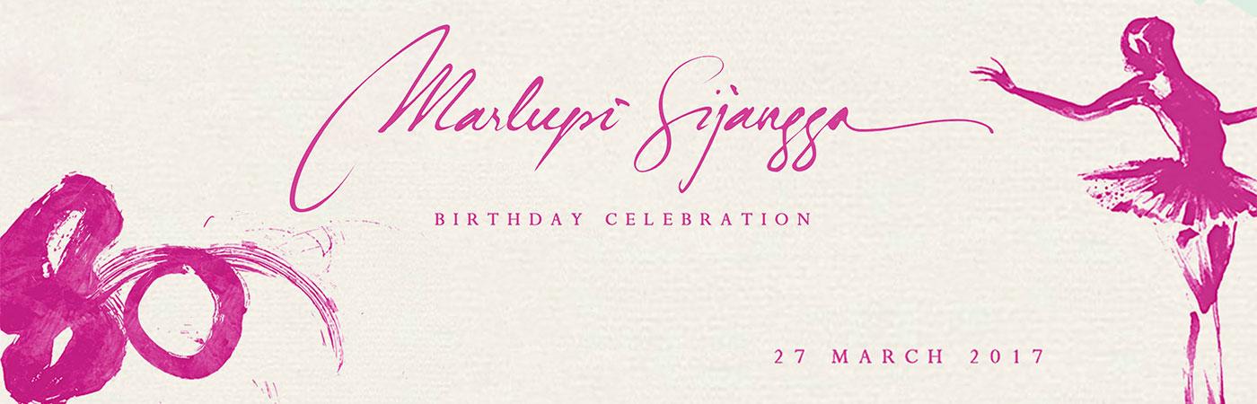 Marlupi Sijangga 80th Birthday Celebration