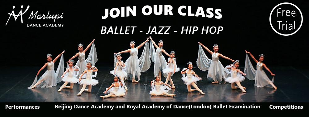 Marlupi Dance Academy - Ballet Jazz Hip Hop - Free Trial