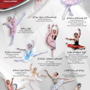 Marlupi Dance Academy - Champions of Ballet Competition