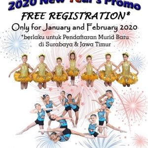 Free Registration Promo 2020 - MDA SURABAYA