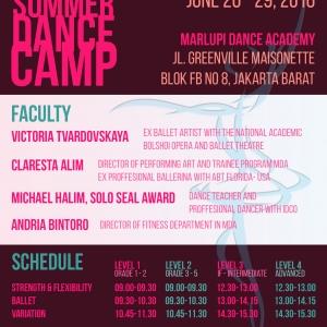 Marlupi Dance Academy Summer Dance Camp 2016